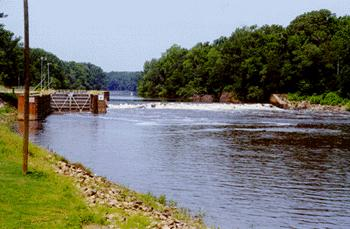 Lock and Dam # 2, near Elizabethtown, is one of three dams on the Cape Fear River system being considered for removal.