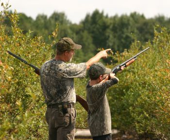 Dove hunting is an excellent way to introduce young hunters to the sport.