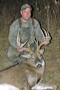 Harvesting a mature buck is extremely difficult, but the odds increase for hunters during the mating season because deer wander across a larger area and during daylight.