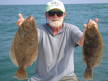 Anglers fishing for flounders in the Atlantic Ocean now will have a 14 �-inch minimum-size.  The daily limit remains 8 flounder.