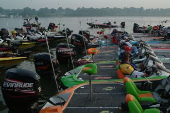 As many as 200 boaters and 200 co-anglers are expected to compete in the Wal-Mart Bass Fishing League Carolina Division tournament, June 16 on High Rock Lake.