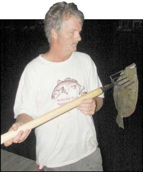 Gigs actually are selective fishing equipment, Massengill said, because no gig can hurt a small flounder if the gigger is selective in its use.