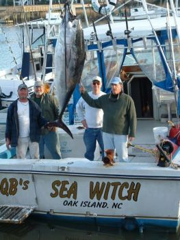 The winter fishery for bluefin tuna is a vital part of the coastal economy of North Carolina.