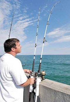 Fishing fit to a t north carolina sportsman for Pier fishing rod holder