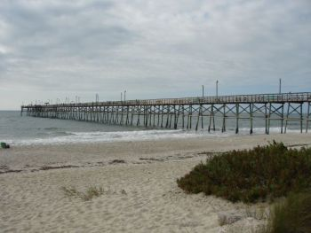 The town of Oak Island voted to purchase Yaupon Pier, contingent upon public funds becoming available.