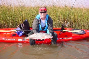 The Hobie Fishing Anglers Challenge is a catch-photo-release tournament featuring speckled trout and red drum for kayak anglers across the SE U.S. during the month of November.