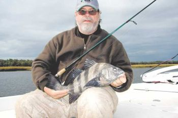 Black drum are one of the species anglers also are likely to catch during winter at southeastern N.C. inshore areas.
