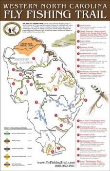 Jackson County maps out a trail of streams for trout fishermen