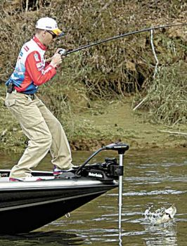 On the level carolina sportsman for Lake gaston fishing