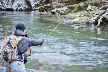 Trout fishing during late fall and early winter means slowing down, fishing deeper and expecting fewer bites, but bigger fish.