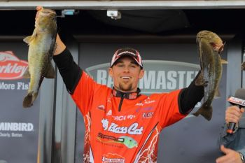 Virginia pro John Crews won his first BASS tournament this weekend by putting together a four-day sack weighing 72 pounds, 6 ounces during the Bassmaster Elite Series season opener on the California Delta.