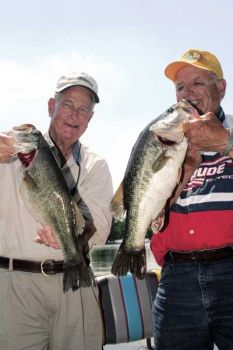 Lake Moultrie provides deep water South Carolina bass