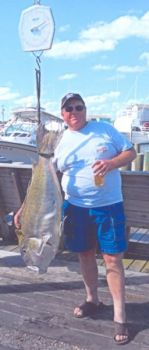 This 45-pound golden tilefish, caught July 3, was certified as the state record on Tuesday.