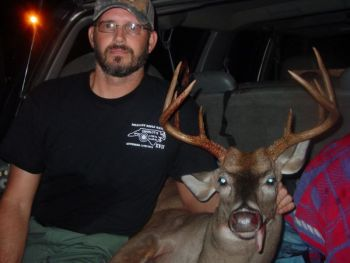 Harald Drost is the first monthly winner in the Bag-A-Buck contest for 2010.
