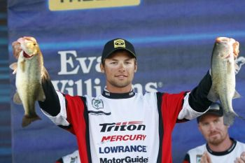 Idaho's Brandon Palaniuk won the BASS Federation Nation Classic today on Louisiana's Red River.