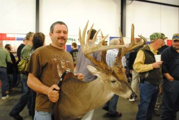 Some of the biggest bucks killed in North Carolina are hanging on the walls of the 2011 Dixie Deer Classic's scoring booth.