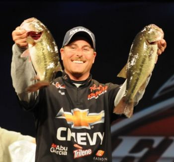 Shelby pro Bryan Thrift snagged his second FLW Tour win Sunday at Arkansas' Beaver Lake, pocketing $125,000 and taking the lead in the Angler of the Year points race.