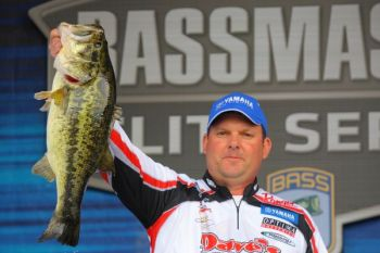High Point pro Pat Golden held a 10-ounce lead going into the second day of the 2011 Bassmaster Elite Series opener on Florida's Harris Chain of Lakes.