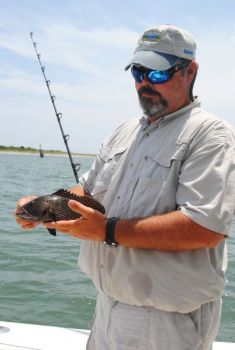 Anglers may keep only five black sea bass per day beginning June 1, 2011
