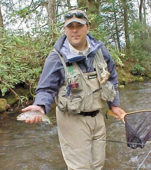 April is mayfly time on trout streams carolina sportsman for Best trout fishing in nc