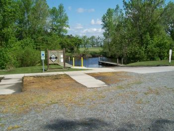 This is the Cannon's Ferry Ramp in Chowan County, which has the same design as the Red Hill ramp