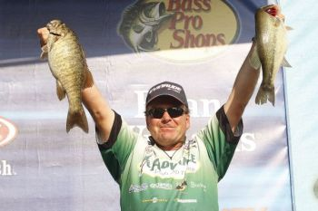 South Carolina's Davy Hite took his seventh Bassmaster win this weekend on Pickwick Lake.