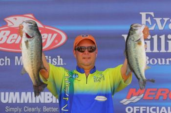 Steve Kennedy clinched his second Bassmaster win Sunday (May 8) during the Elite Series event on Georgia's West Point Lake.