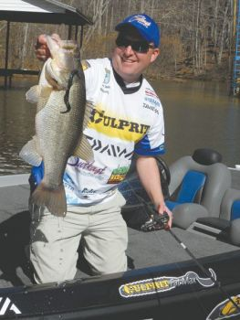 Topwater baits are particularly effective in the fall, when bass are really keyed in on shad movememts.