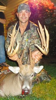 Doug Malinowski�s Orange County buck ranks as the No. 2 all-time archery trophy taken in North Carolina.