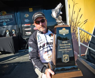 Tracy Adams won the BASS Southern Open on Lake Norman, taking most cash and merchandise valued at better than $59,000, plus a spot in 2013 Bassmasters Classic.
