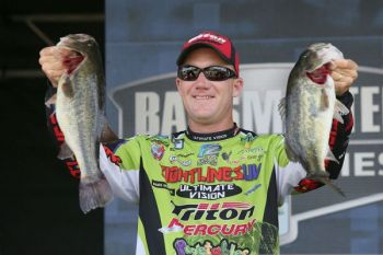 Kansas pro Brent Chapman earned his first Bassmaster Elite Series victory today (June 10) on Louisiana's Toledo Bend.