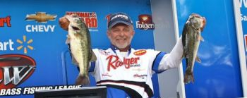 Robert Walser won a tough BFL Piedmont Division tournament on High Rock Lake in mid-May.