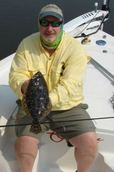 Capt. Rick Bennett said the late spring and early summer has produced plenty of nice flounder in the Wrightsville Beach area.