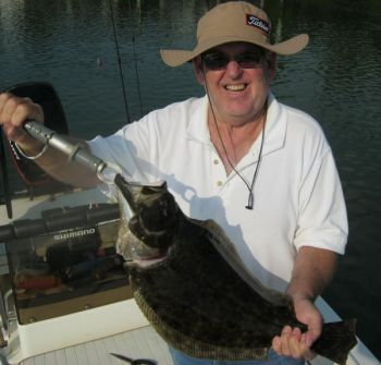 Flounder in the Sneads Ferry area have been biting all year, thanks to a warm winter, and the bite is getting better as the weather warms.