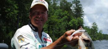 The topwater bait you choose will depend a lot on the primary cover and baitfish in the reservoir you're fishing.