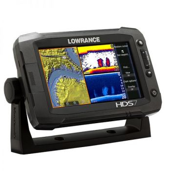 The Lowrance HDS Gen2 Touch includes StructureScan in the unit and adds touchscreen capabilities.