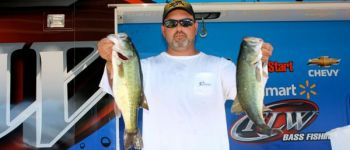 James Blankenship of Lexington finished third in the BFL Super Tournament on High Rock Lake.