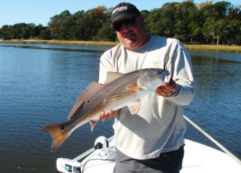 Capt. Mark Dickson said trout and redfish are really biting in the waters between Ocean Isle and Little River.