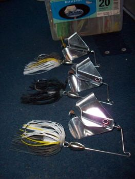 The new Vision Prop Limited Edition Buzz Bait offers different sounds and versatility that drives bass crazy.
