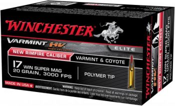 The .17 Winchester Super Magnum