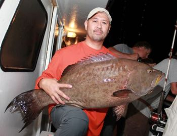 Toby Grantham�s 27.6-pound scamp grouper was certified as North Carolina�s first state record for that species.