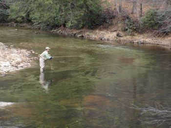 Wilson Creek is among North Carolina�s best trout streams, year-round.