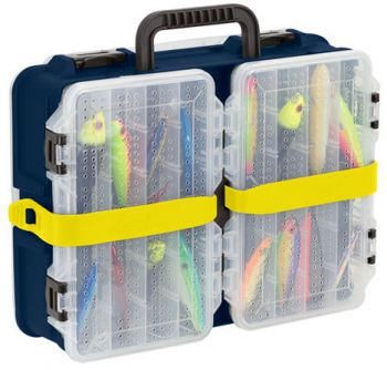Plano's Flex 'N Go tackle-storage system allows for easy switching of smaller boxes for species-specific trips.