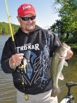 Trophy bass fishing is on the cusp of breaking out of the winter doldrums on the three major reservoirs around Raleigh-Durham.