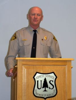 Col. Dale Caveny of the N.C. Wildlife Resources Commission disclosed the results of a four-year wildlife