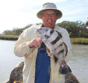 Rantowles Creek full of hungry black drum, redfish