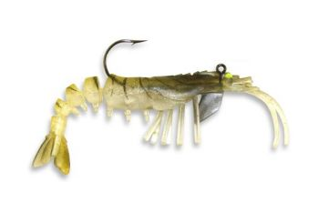 The new Vudu Shrimp has become popular since its introduction earlier this year because of it's lifelike appearance.