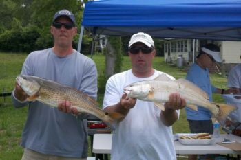 Dead-sticking, slow-fishing soft-plastics produces winning redfish for Smith, Padrick