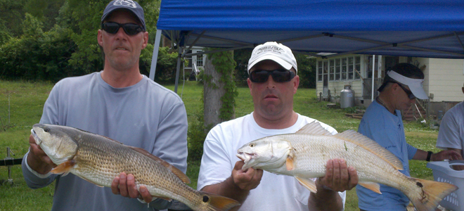 Smith, Padrick win redfish tournament out of Sneeds Feery