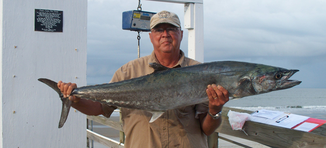 Big kings, cobia highlight Oak Island Pier Tournament